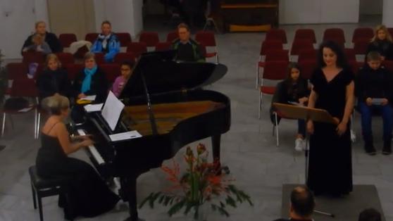 Max Reger - Mariä Wiegenlied; Irina Ionesco Soprano, Katerina Dolke Piano
